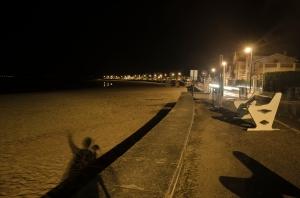 ombre bord de plage